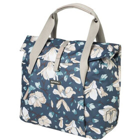 Basil Magnolia Luggage Carrier Bag 18l, teal blue